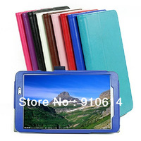 "Crazy Horse Pattern Magnetic Folio Leather Stand Case Protective Cover Pouch For LG G Pad 8.3 8.3"" Tablet PC DHL"