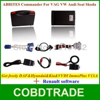 Nice Price! AVDI/FVDI ABRITES Commander For VAG with VVDI ImmoPlus V13.6 with Renault software with DAF+Hyundai/KIA/Tag software