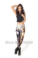 2014 spring winter autumn for women's black pants fashion milk casual dress harajuku iswag girl's star wars print pants fitness