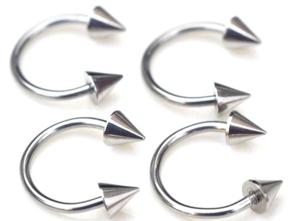 Wholesale 5pcs/lots Promotion Cheap Rivets Body Jewelry Lots Barbell Belly Lip Nipple Rings Eyebrow Pierce,Free Shipping BB09*5(China (Mainland))