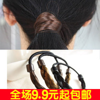 6110 brief fashion wig headband hair rope hair band twisted knitted accessories