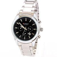 2013 Stainless men full steel watch Curren White Fashion Elegant Watches Men Luxury Brand Bracelet Free Shipping