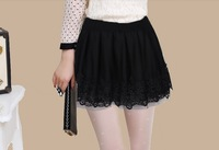 Women's Skirts 2013 autumn and winter bust skirt short skirt pleated