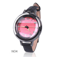 New Fashion Luxury Fine Women Diamond Quartz Watches, Designer Brand Julius Ladies Casual Dress Genuine Leather Belt For Hours
