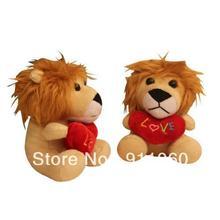Stuffed Lion with Heart(China (Mainland))