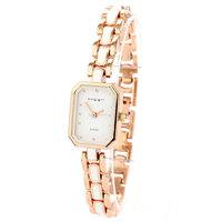 reloj metal dama Wristwatches  Famous Brand Rhinestones Bracelet Watch Rose Golden Watches Women  dress watch Free Shipping