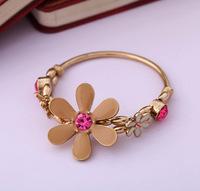(mix order) Free Shipping & Fashion accessories elegant flower  Women elastic bracelet accessories  TN-7.99