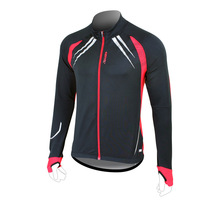 Cycling Mens MTB Bike Cycling Bicycle Fleece Coat Warm Jacket Brand New