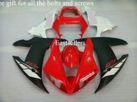 Complete fairing kit for YZF1000R1 02 03 2002 2003 YZF 1000 R1 YZF-1000R1 2002 2003 YZFR1 02 03 YZF-R1 02 03 Red Black