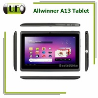 7 Inch Capacitive Screen Allwinner A13 Camera OTG WIFI Support External 3G 2300mAh Original Capacity Android Tablet PC