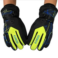 Men's Winter snow sport waterproof snowboard ski gloves,cold-proof warm snowmobile gloves,snowboarding gloves for women