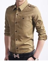Leisure Fashion long-sleeved shirt6618, army outdoor shirt.