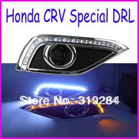 CE Approved 12V Professional LED Running Daytime Light DRL For Honda CRV 2012 -2013LED Daytime Running Blubs OSRAM LED Car Light