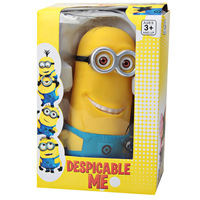 Despicable Me 17CM The Minion Style Two Eyes Saving Pot Cute Tiny Man Coin Bank in Yellow for Decoration