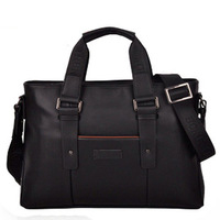 Laptop bag a 4 paper man bag handbag male shoulder bag messenger bag briefcase men's commercial