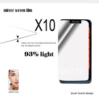 Free Shipping 10pcs/lot High Quality Mobile Phone Mirror Screen Protector Films  For Motorola Droid Mini With Retail Package