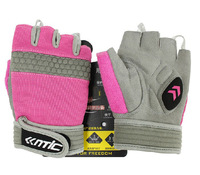 Cycling MTB Bike bicycle Racing Womens half-fingered gloves Pink