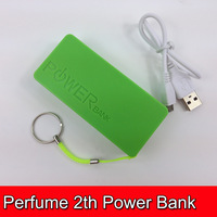 20pcs Perfume 2th Gen 5600mAh Universal Power Bank USB External Battery charger for iPod iPhone Samsung HTC Free Shipping