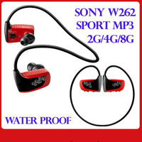Sports Water drop resistant Waterproof MP3 Player Magnet Connection Built-in 4GB Memory in-ear Free shipping