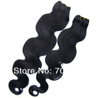 Fashion and Popular Black Color Brazilian Virgin Hair Body Wave,Make Each Customer Feel Satisfied,Women Body Wave Hair Extension