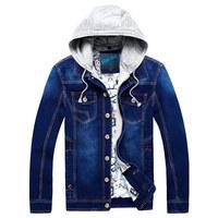 Fashion Men's Jackets & Coats Stylish Jacket For Men Winter Coat Man Brand Outdoors Cotton College Jacket Jeans hHooded Clothing