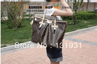 The new classic shoulder bag big bag handbag fashion women's European and American star with money bags 40146