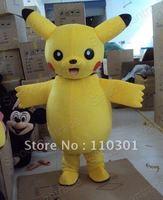 Pikachu Pokemon Rabbit Crtoon Mascot Costume Fancy Outfit Free Shipping