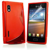 5 colors !!!BLACK S Line Wave Gel Case Cover For LG E615 Optimus L5 +  Free HK/Singapore Post