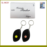130dB Alarm 40M RF Wireless Remote 1:2 Key Finder With 1 Card Size Transmitter+2 Keychains Receivers TypeA