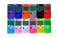 20pcs/lotlot New Arrival Cartoon 3D game Silicon Case Cover For iPhone 4 4s Free Shipping