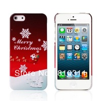 50pcs/lot Merry Christmas stocking sock gift Santa Claus Christmas tree bell hard plastic Cover case For Samsung Galaxy S3 I9300