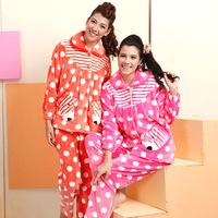 American standard women's rich velvet lounge cartoon long-sleeve 36631 sleep set