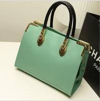 2014  Fashion Brief  Vintage Women's Handbag Leather Shoulder Bag