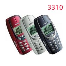 Refurbished original Nokia 3310 cheap phone unlocked GSM 900 1800 with russian menu multi languages 1