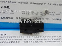 Free Shipping High quality1x Z-15GW2-B Black Long Hinge Lever Type Actuator Machine Position Limit Switch5pcs/lot