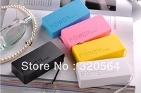 Free DHL ,5600mAh USB External Backup Battery Power Bank for iPhone iPod Samsung HTC + Micro usb cable Retail box Perfume 2th