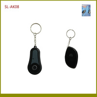 130dB 1 in 1 RF Wireless Remote Lost Key Finder Alarm With 1 Keychain Transmitter + 1 Keychains Receivers TypeA