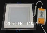 supernova sale square ultra-thin recessed led ceiling lights12W 85-265V high power CE&RoHS 2year warranty free shipping 30pc/lot