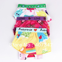 Free shipping!!! MOQ12 pcs, Dog lovely underwears, 6 sizes available, colors can't be choosen, we ship as in stock