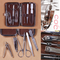 5Sets Manicure Nail Beauty Series 6pcs/set Personal Care Combination Tools professional nail art Kits