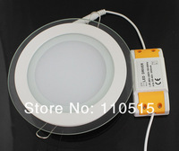 Ultra thin design 12W LED ceiling recessed grid downlight / square panel light , 20pcs/lot free shipping