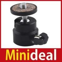 "rising stars [MiniDeal] 1 4"" Mini Ball Head Bracket Holder Mount for Camera Tripod Hot hot promotion!"