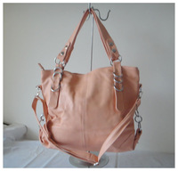 A101(pink ) wholesale popular bag,purses,fashion ladys handbag,42x25cm,PU,7 different colors,two function,Free shipping