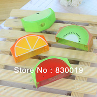 Free shipping New cute Creative stationery fruit sharpe pencil Sharpener school supplies 20Pcs/Lot