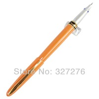 Stainless Orange Crocodile 215 crocodile mouth fountain pen with fine nib