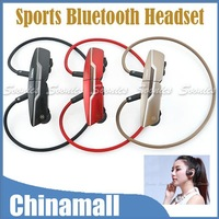 New Item Sport Style Bluetooth V2.1 EDR Wireless Headset Headphone For iPhone Tablet Free Shipping & Drop Shipping