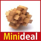 [MiniDeal] DIY Wooden Wood Intelligence Education Puzzle Lock Toy Christmas Gift 02 Hot(China (Mainland))