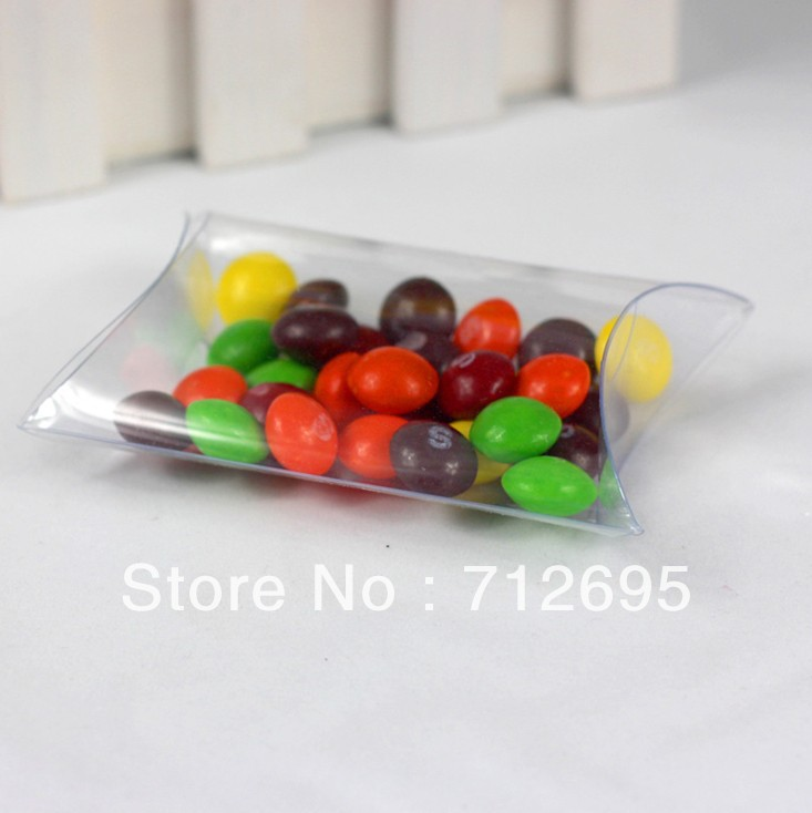Best transparent box, pvc candy box, nice pillow box(China (Mainland))