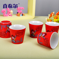 Personalized cartoon ceramic cup glass cup mug ztb04
