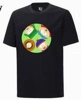DIY South park 05 T Shirt Custom DIY Tee band short t-shirt printing, round neck 100% Cotton custom logo